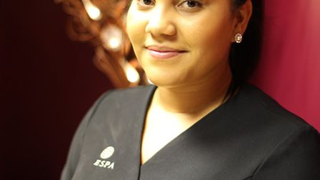 Jonelle Roberts, has started as a new therapist at Valentina Day Spa in Letchworth