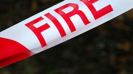 Firefighters were called to the incident