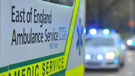 Ambulance, police and fire crews were called to Cholwell Road, Stevenage