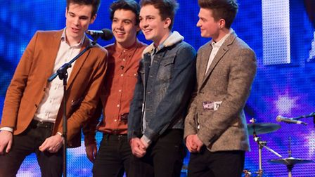 The boys on Britain's Got More Talent