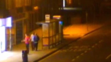 A screenshot of the CCTV footage