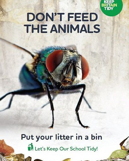 Anti-litter campaign - FLY