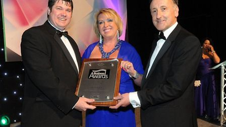 Radisson Blu Stansted won an award at the Essex Business Awards