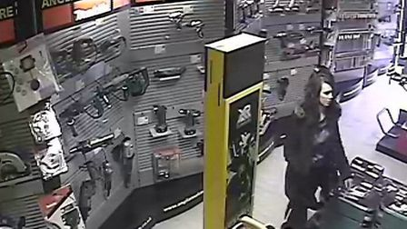 Police would also like to speak to this woman in connection with the incident.