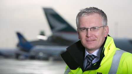 The managing director of Stansted Airport, Andrew Harrison.