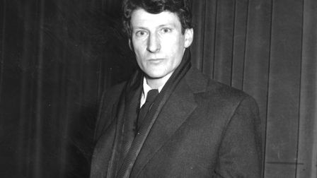 German-born British painter Lucian Freud. (Photo by Express Newspapers/Getty Images)