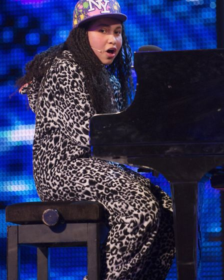Gabz Gardiner, pictured performing The One during her Britain's Got Talent audition, is being backed