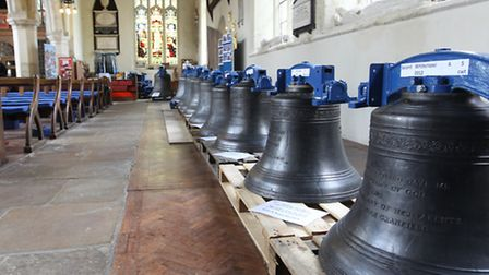 New bells at St Mary's Church