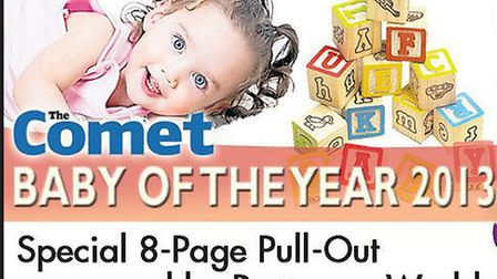 Comet Baby of the Year promotion