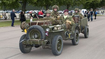 Lliving history groups bring the Second World War to life.