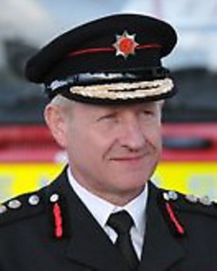 Herts chief fire officer Roy Wilsher has been recognised in the honours list