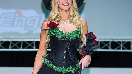 Kirsty Heslewood wins Miss England. Great Hallingbury. June 26, 2013. Photograph submitted. Pic