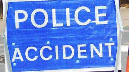 Police were called to the scene of the crash in Letchworth GC