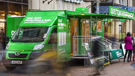 Macmillan Cancer Support mobile service will come to Comet country
