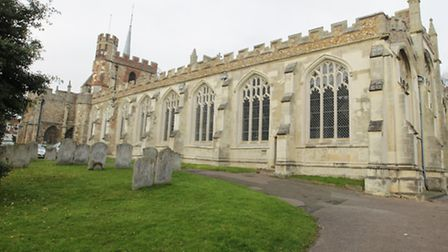 St Mary's Church in Hitchin is listed in the document