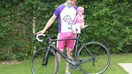 Alex Hepton with his daughter Jayla