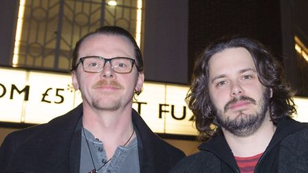 Simon Pegg and Edgar Wright have confirmed they will return to Letchworth GC