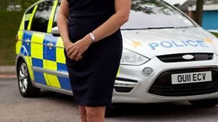 Detective Inspector Kay Lancaster who appears on the programme Married to the Job