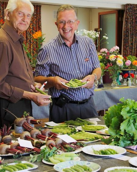 Clavering Horticultural Show