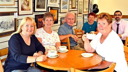 Work by members of Saffron Walden Arts Society is now on display at the restaurant in Beales departm