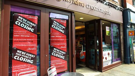 Thorntons in Hitchin is closing