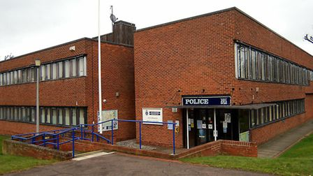 Letchworth police station (pictured) and Hitchin will both close their front desks