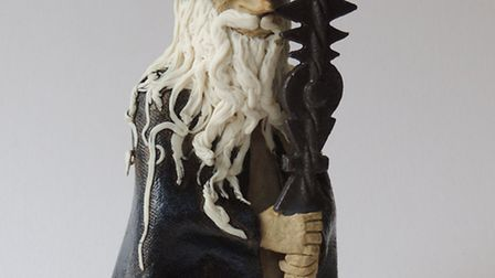 There will be a demonstration of how to build wizards, sorcerers and magicians in clay.