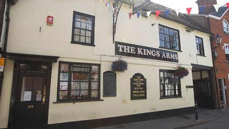 The Kings Arms in Hitchin is up for sale