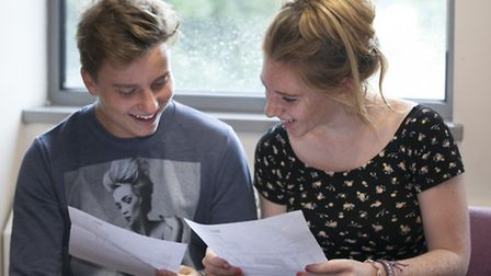 Becky Hayes and Danilo Ferrigno from North Hertfordshire College