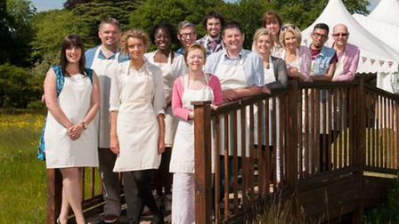 The Great British Bake Off 2013 contestants. Credit: Love Productions