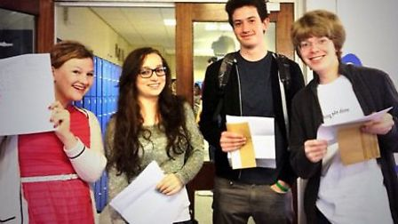 Highfield school students celebrate their exam results