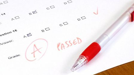 Students will find out their exam results today