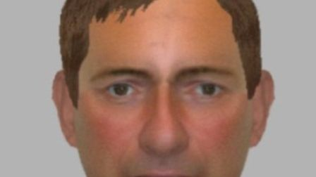 Detectives have released an e-fit image of a man they want to speak to in connection with a series o
