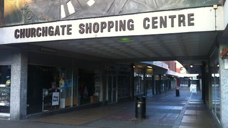 Churchgate Shopping Centre, Hitchin, which prompted the survey