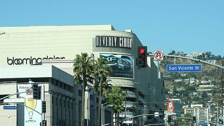 The Beverly Center shopping complex in Los Angeles. Photo: Commons wikimedia