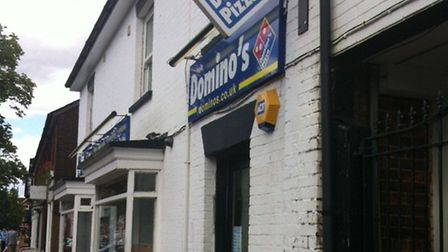 Domino's Pizza, which has a takeaway in Stevenage High Street, could be opening another in Mobbsbury