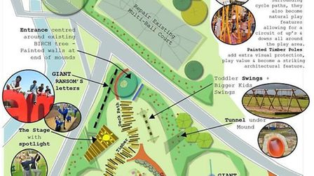 Plans for Ransoms Recreation Ground's play area