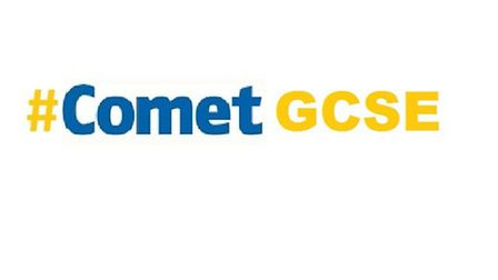 Get involved on Twitter by using the #CometGCSE hashtag