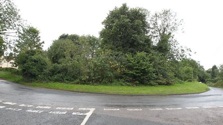 Land in Wallington which is to be sold by NHDC