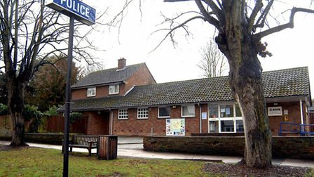 The old Baldock police station which is being developed