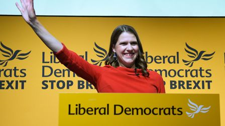 Jo Swinson is the new leader of the Liberal Democrats. Photograph: Stefan Rousseau/PA.