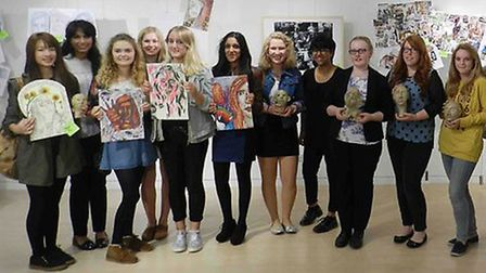 National Art and Design Saturday Club at North Hertfordshire College