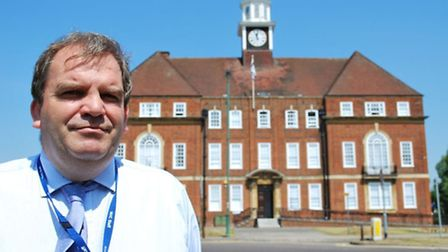Allan Tyrer, executive director, commercial and financial at North Herts College.