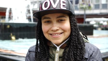 Gabz Gardiner will be performing in Stevenage town centre for the Christmas lights switch-on
