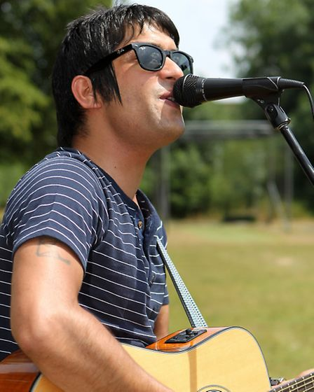 Nadeem Leigh takes to the stage in his home town on November 28