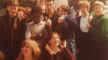 Past pupils of The Highfield School, photo courtesy of Gary Lee