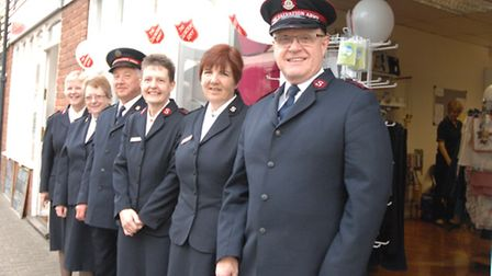 The Salvation Army has opened a new charity shop in Saffron Walden.