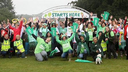 Hundreds took part in a big, beautiful walk in Hatfield Forest to raise money for Macmillan Cancer S