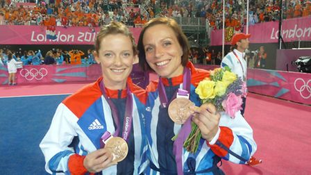 Helen Richardson and Kate Walsh at the Olympics