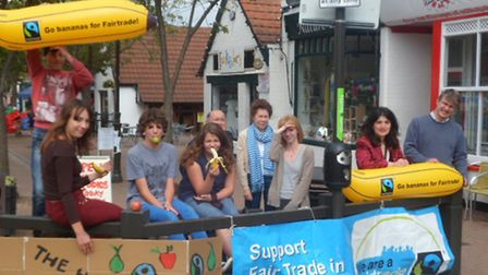 Pictured is the Fair Trade and Rhapsode team from Letchworth GC